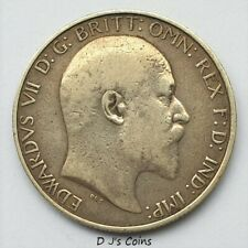 More details for 1904 king edward vll silver florin 2 shilling coin, good grade with nice detail.