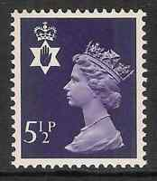 Northern Ireland 1974 NI19 5 1/2p 2 bands Regional Machin MNH