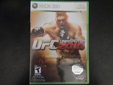 UFC Undisputed 2010 (Microsoft Xbox 360, 2010)