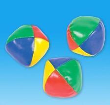 15 JUGGLING BALLS Learn to Juggle Beginner Kit Circus 4 Sets #AA54 FREE SHIPPING