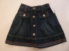 Gymboree Falling For Feathers Denim Skirt Buttons & Colorful Trim 4 5 6 12 NEW