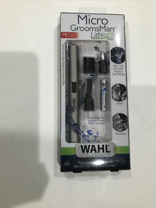Wahl Lithium Micro Groomsman Men's Personal Ear, Nose & Brow Trimmer (BRAND NEW)