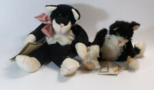 New listing Vintage Lot Of 2 Cottage Collection Kitties