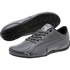 4bcd5a56e85c PUMA Drift Cat 5 Carbon Mens Gray Leather Lace up SNEAKERS Shoes 10