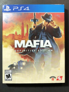 Mafia [ Definitive Edition ] (PS4) NEW