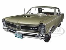 1965 PONTIAC GTO CAPRI GOLD 1/18 DIECAST CAR MODEL BY SUNSTAR 1809