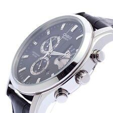 CASIO BESIDE Chronograph BEM501L-1 BEM-501L-1 Leather Band 50m WR @