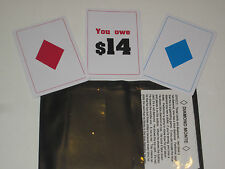 Diamond Monte Card Magic Trick or 3 Card Monte, Gambling Trick, Close Up Routine