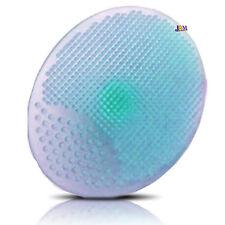 2x Facial Exfoliating Brush Cleaning Massaging Pad Cleanser Tool SPA Skin Scrub