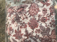 Pottery Barn Harlowe Patchwork Quilted King Sham NEW