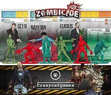 Zombicide Kickstarter Exclusive Bundle 03 - Seth, Bastian, Lucius (Board Games)