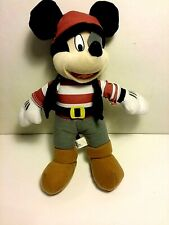 "Disney's Mickey Mouse in Pirate Suit. 10"" Toy Factory"