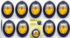 9 x Vanilla Car Vent Air Fresheners Slow Release Odour Freshner Clip Freshener