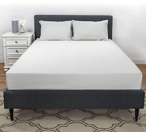 "Serenia Sleep 10"" Plush Gel Comfort Foam Mattress, Made in USA"
