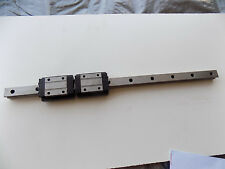 ROUNTER CNC LINEAR ACTUATOR slide rail 23 in long NBW-20TA bearing block A2