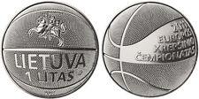 Lithuania 1 Litas 2011 UNC Basketball championship