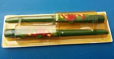 Vintage~Avon~Candy Cane and Holly~ 2 Bayberry Scented~Taper Candles~ 10 In.