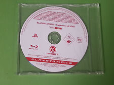 Blazing Angels Squadrons Of WWII PlayStation 3 PS3 Promo - BLES-00023 *Disc Only