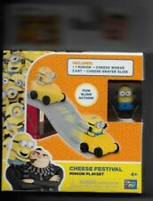 DESPICABLE ME 3 CHEESE FESTIVAL MINION PLAY SET NEW