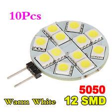 ET 10x G4ue2 5050 SMD LED Lampe Strahler Leuchte Leuchtmittel Warmweissue2V DC