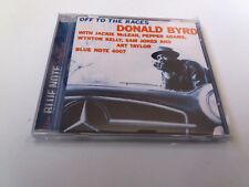 "DONALD BYRD ""OFF THE RACES"" CD 6 TRACKS COMO NUEVO JACKIE MCLEAN PEPPER ADAMS"