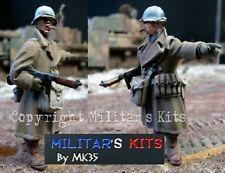1/43 Figurine MK35 M43-011 militaire américain à monter et à peindre