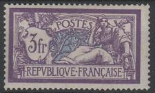 "FRANCE STAMP TIMBRE YVERT N° 206 "" MERSON 3F VIOLET ET BLEU "" NEUF xx LUXE"