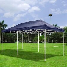 10 Ft.x20 Ft. Easy Pop-up Tent Canopy Replacement Top Cover Self-adhesive Straps