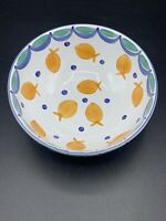HEREND VILLAGE POTTERY GOLDFISH Salad SOUP Snack BOWL Hungary Oven to table