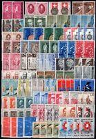 Repubblica - Lotto di 104 francobolli, 1952/64 - Nuovi (** MNH)
