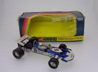 Vintage Corgi DieCast #150 Team Surtees TS9 F1 Racing Car 1973 Mettoy Boxed