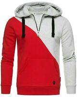 Marikoo Kapuzenpullover Herren Hoodie FVSD Colorblock Sweatshirt Pulli Tamaroo