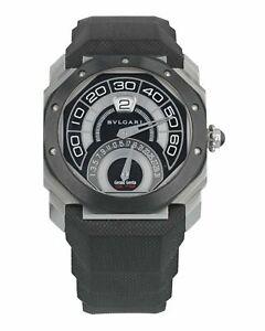 Bvlgari Octo Retrogradi Black Lacquered Dial Men's Watch 101831