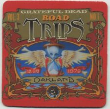 Grateful Dead  - Record Album Beverage Coaster  - Road Trips Oakland
