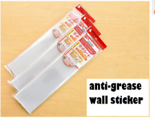 anti-oil stickers stove grease stickers wall Kitchen heat-resistant transparent
