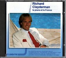 "RICHARD CLAYDERMAN le piano et la france CD 1990 ""LINEA TRE"" RARO"