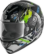 SHARK Helm Ridill Drift-R schwarz grün blau XL  61/62 Sonnenblende statt 179,95€