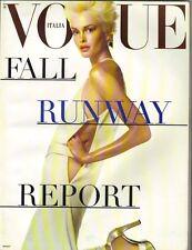 Kylie Bax Italiano Vogue Supplement Cargador Fall - Winter 1996 Runway Report