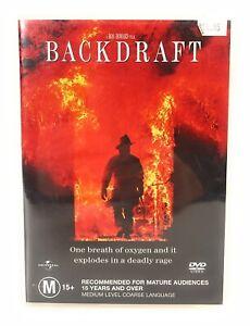 Backdraft (DVD, 1991) Kurt Russell New & Sealed Region 4 Free Postage