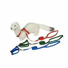 Petco Deluxe Ferret Harness and Lead Set, Color:Assorted by Ferret Frenzy
