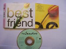 THE SENATORS Best Friend – 1992 UK CD Single – Pop Rock – BARGAIN!
