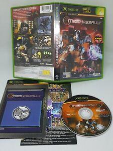 Mech Assault Xbox Very Good Condition  Video GAMES FAST FREE UK POST VGC