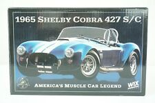 Wix Collectibles 1:24 Die Cast 1965 Shelby Cobra 427 S/C With COA