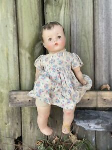Creepy Doll Unbranded Haunted Vintage Antique Scary Cute Dress Collectible Prop