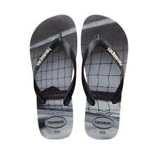 Scarpe da uomo grigie Havaianas in gomma