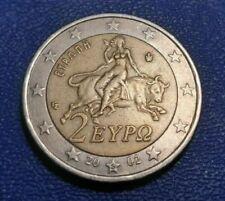Pièces euro pour 2 Euro année 2002