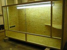 Bausatz Terrarium 200x60x100 Holzterrarium OSB