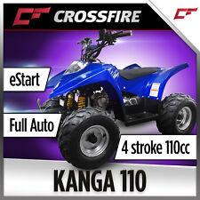"Crossfire Kanga 110cc Quad Bike, ATV ""Honda TRX90 Size"""