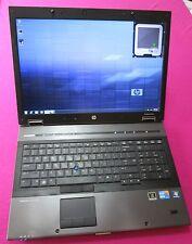 HP 8740w elitebook laptop I7-820qm 1.73-3.06Ghz 6GB ram NEW 750GB hdd K2000m W7