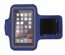 Fit iPhone SE/5 Armband Case Sports GYM Running Exercise Arm Band Holder BLUE